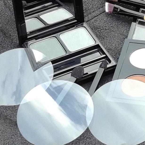glacine pour boitier de maquillage poudre