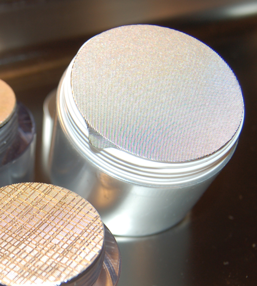 opercule neutre gaufrage pointes de diamant